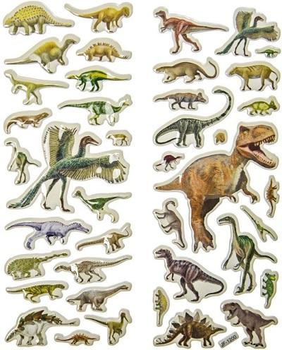 stickers dinosaurussen
