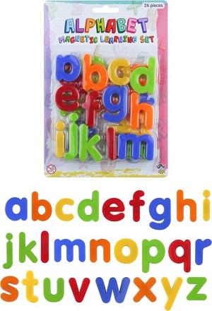 Gekleurde magnetische letters