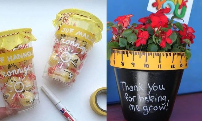 New 10x leuke bedankjes voor die lieve leidster van de kinderopvang  #VK65