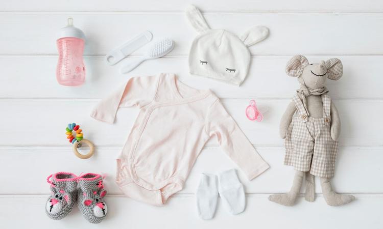 Baby uitzetlijst, de complete checklist