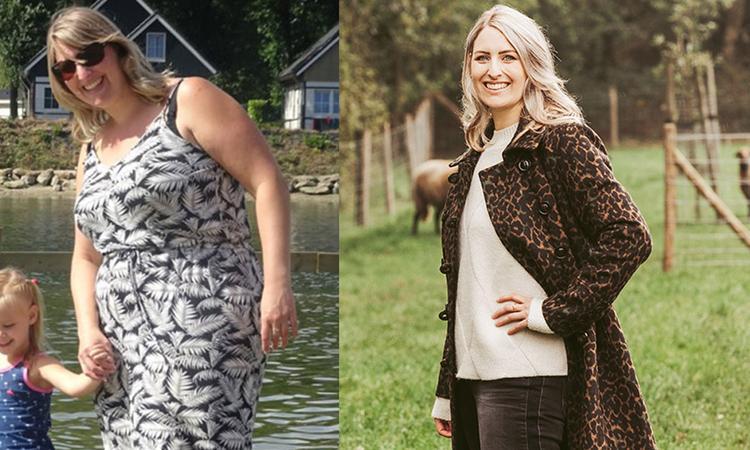 Sanne viel 35 kilo af: 'Ik kan eindelijk weer lekker spelen met mijn dochters'