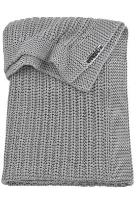 meyco wiegdeken herringbone 75x100 cm grey grijs