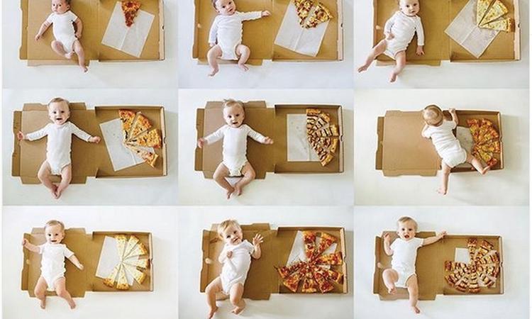 10x originele manieren om je baby's mijlpalen te delen op Instagram