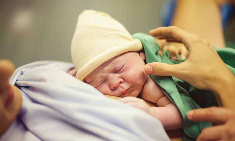 Uitscheuren tijdens de bevalling