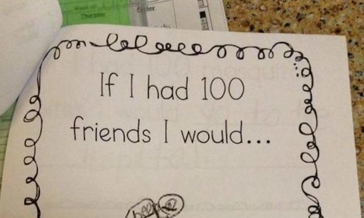 Tien grappige huiswerkopdrachten: zó fout dat ze goed zijn