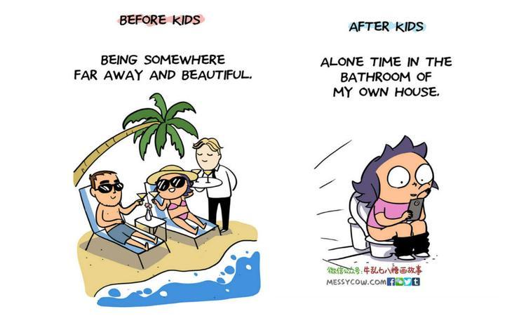 10 hilarische cartoons die laten zien hoe life-changing kinderen zijn