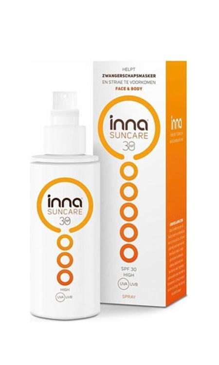 Inna Suncare Face and Body Zonnebrand Spray voor Zwangere vrouwen