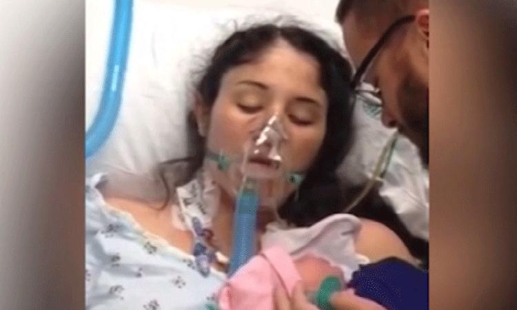 Moeder die uit coma ontwaakte door baby maakt het goed