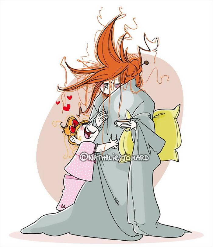cartoon moederschap8