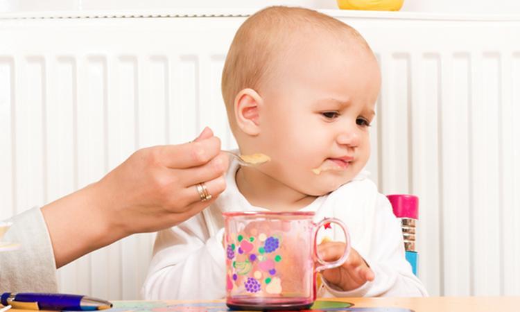 Baby wil niet eten