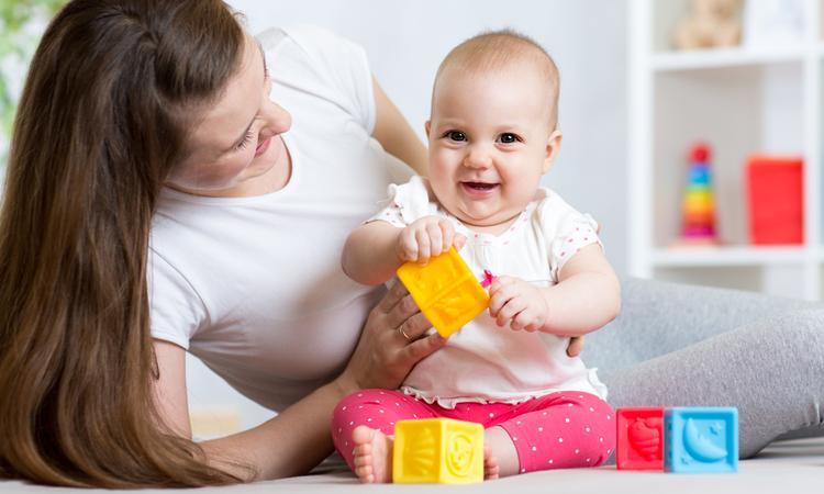 Spelontwikkeling van je baby