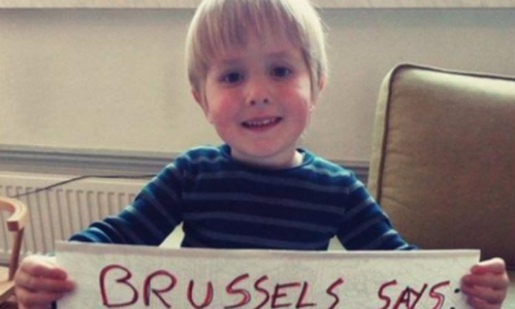 Brussels jongetje antwoordt op bericht vluchteling