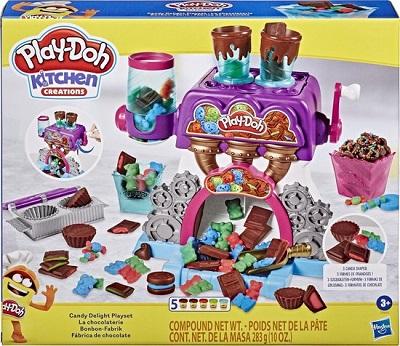 Play Doh klei speelset snoepfabriek