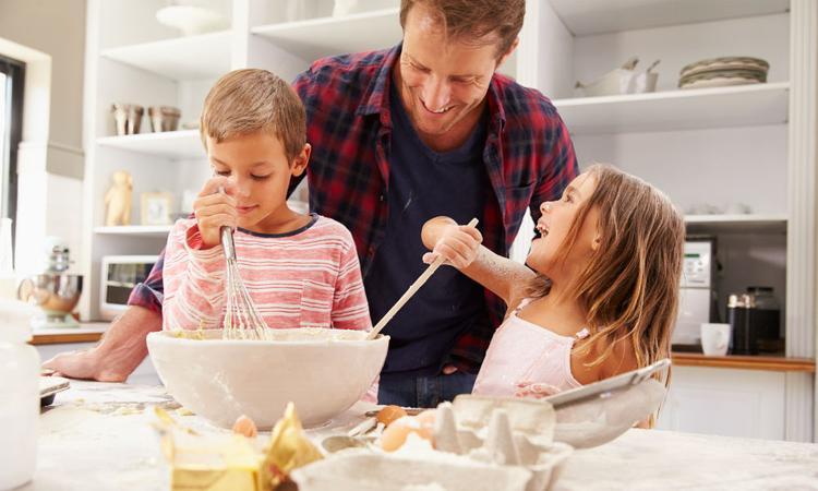 Vaders zijn van vitaal belang voor de gezondheid van hun kinderen