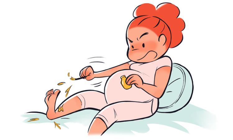 Struggles die elke zwangere vrouw herkent in hilarische cartoons