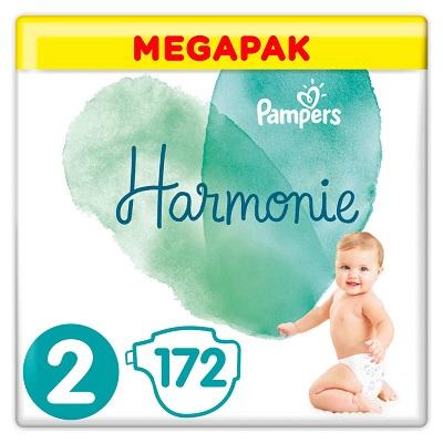 pampers harmonie megapack maat 2 4 8kg 172 luiers