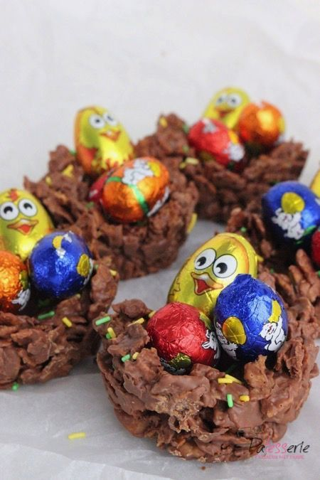 chocolade nestjes