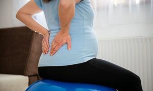 Rugpijn tijdens zwangerschap