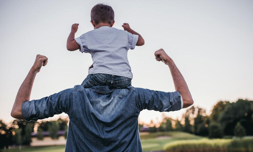 alleenstaande vader
