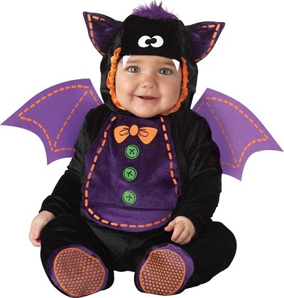 Halloween-outfit vleermuis