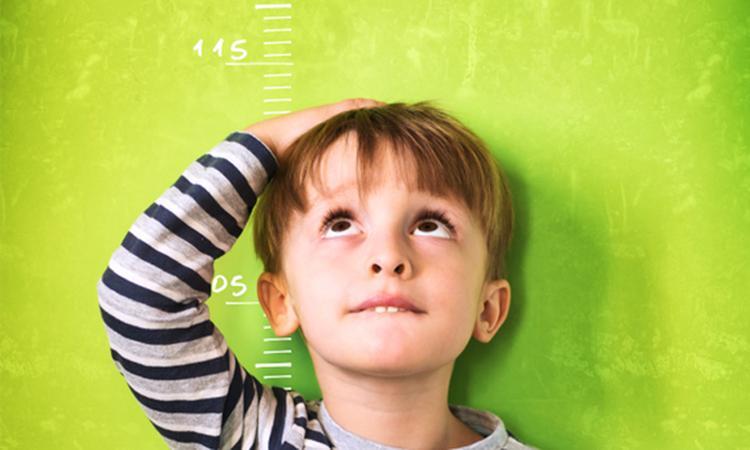 Kind met groeistoornis