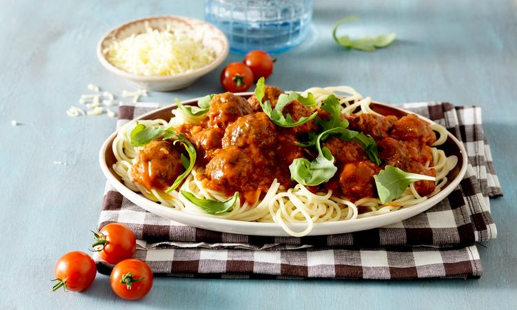 Mamma mia! Spaghetti met gehaktballetjes en verstopte groente