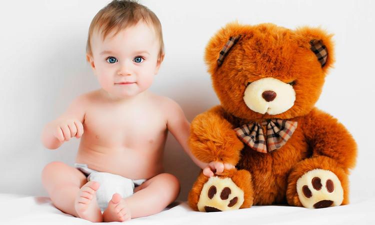 Baby 8 maanden oud: eigen karakter