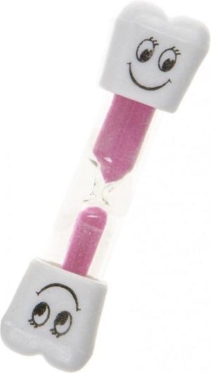 Lg-imports Zandloper Smiley Roze Drie Minuten 9,5 Cm
