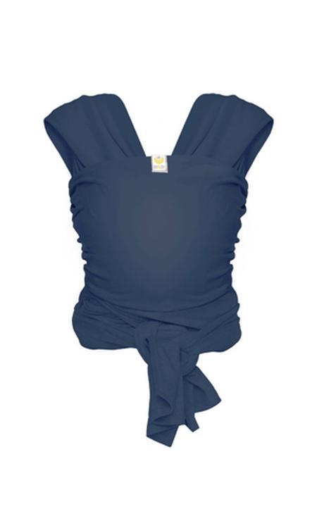 ByKay Stretchy Wrap de Luxe Draagdoek - Jeans Blauw
