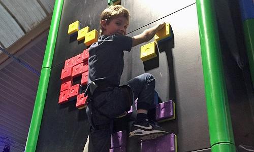 clip climb