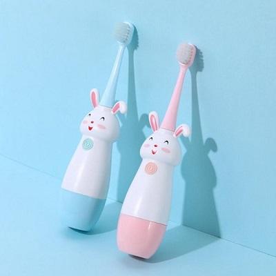 Tandenborstel kinderen - Elektrische tandenborstel 3 t/m 12 jaar - Blauw
