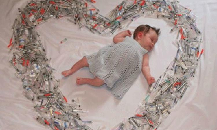 Foto over IVF-behandelingen gaat viral
