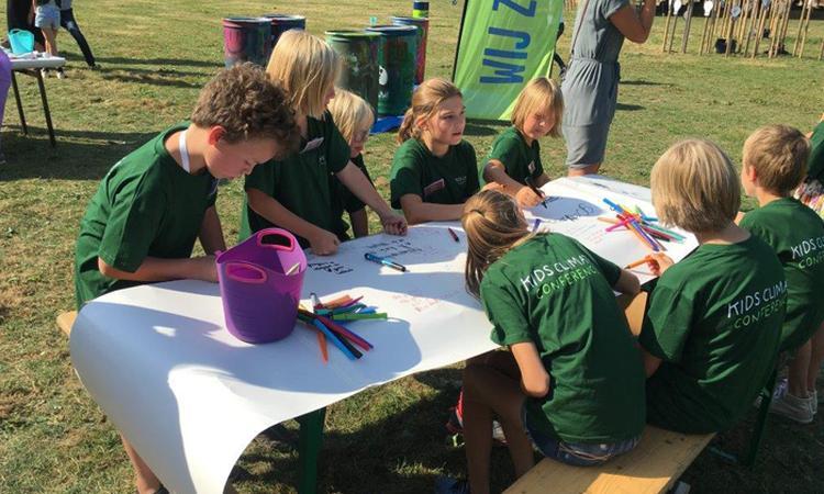 Kids Climate Conference: een betere wereld begint bij je kind