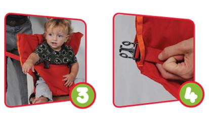 Sack 'n Seat de handigste opvouwbare kinderstoel