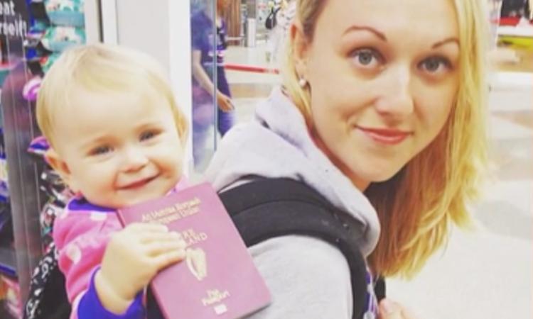 Iers gezin maakt wereldreis met baby Esmé