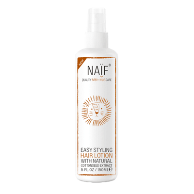 naif baby care easy styling hair lotion