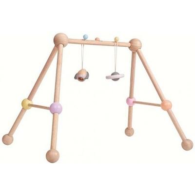 Plan Toys houten babygym pastel