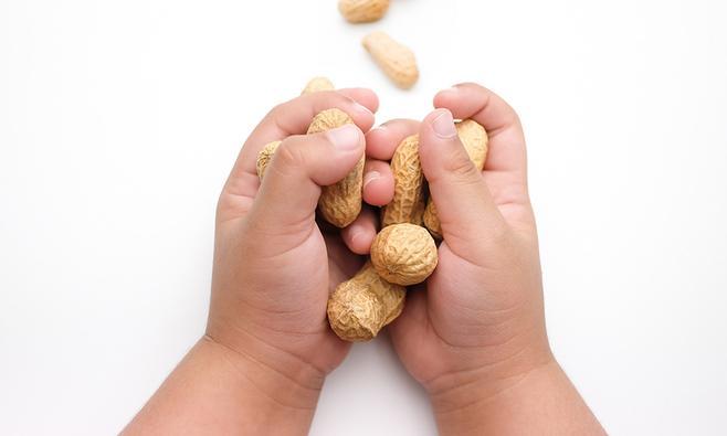 Pinda-allergie bij baby's en peuters