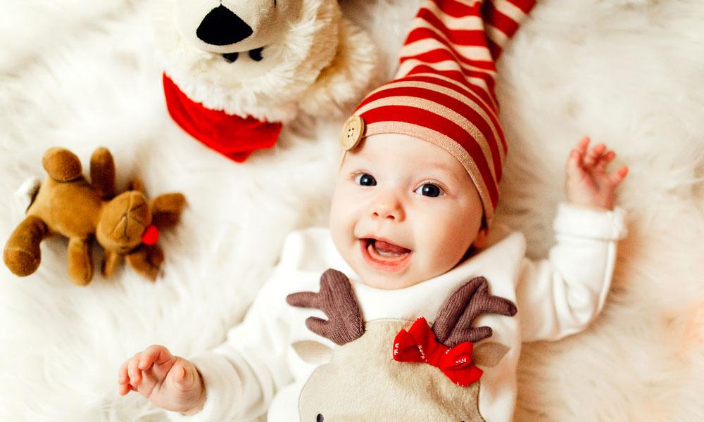Baby Kersttrui.De Leukste Foute Kersttruien Voor Baby S Ouders Van Nu