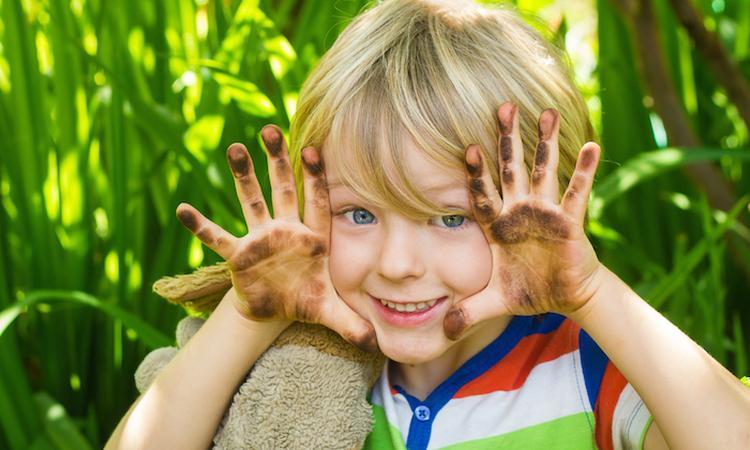 Waarom vies worden goed is voor je kind