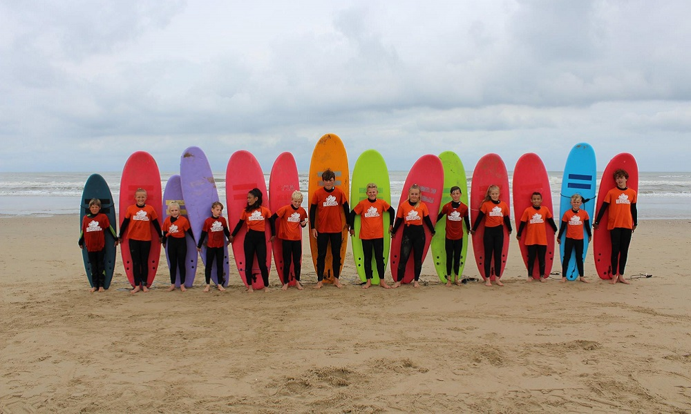 Protest surfcamp