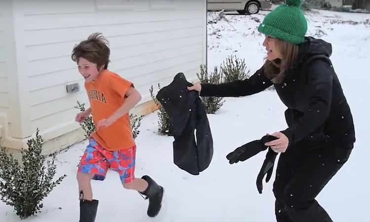 Waarom willen kinderen in een T-shirt naar buiten als het vriest?