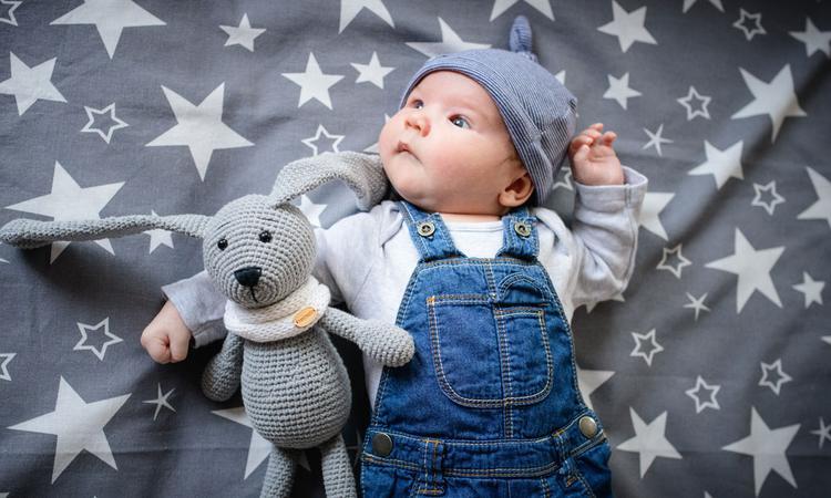 9x denim voor baby's en peuters