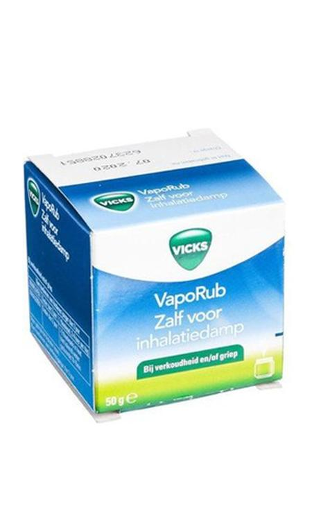 Vicks Vaporub Zalf Voor Inhalatiedamp 50 gram