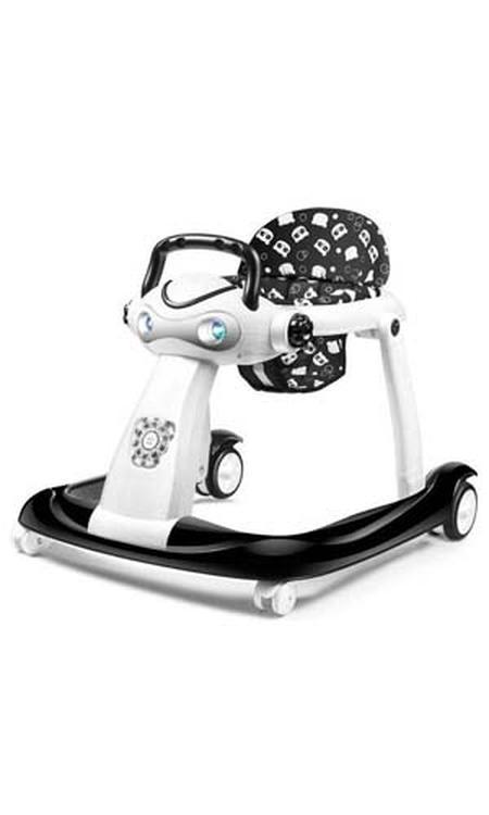 Loopstoel 2 in 1 - Geschikt voor baby's en peuters - Met muziek en lichtjes - Opvouwbaar - Uitneembaar zitje