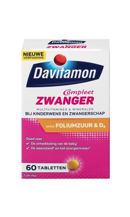 Davitamon Mama Compleet - extra foliumzuur