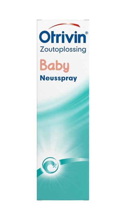 Otrivin Baby - 15 ml - zoutoplossing - Neusspray