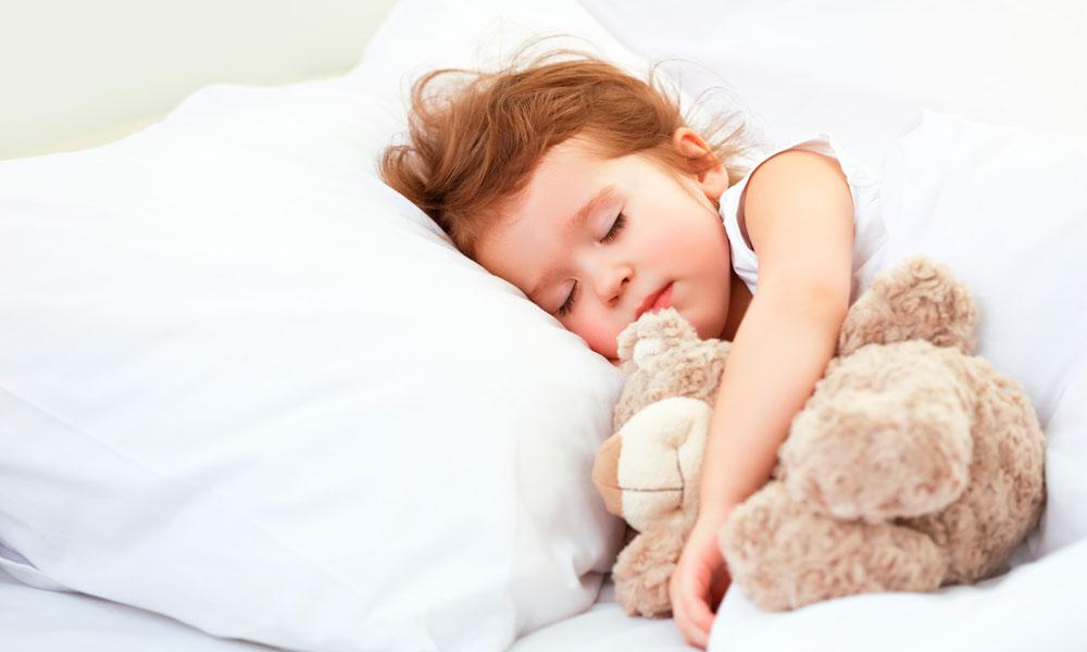 kind slaapt niet meer door