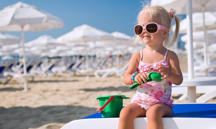 Kind ziek op vakantie