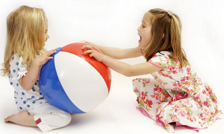 spelgoed delen doen kinderen niet zomaar